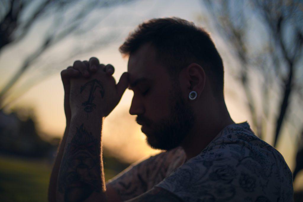 Man in Quiet Reflection